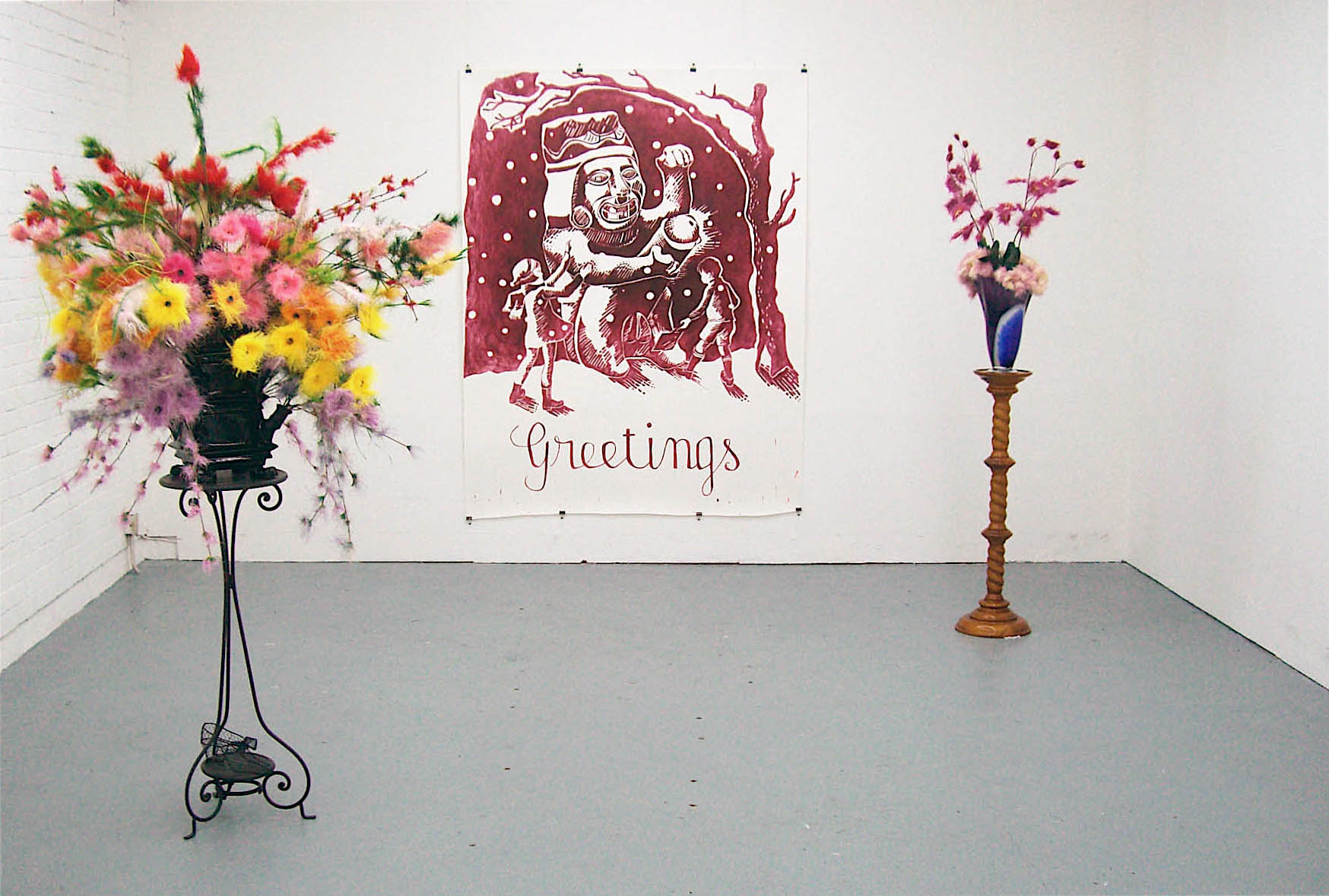 Aoife Collins  - Culture Clash, Working rooms, London
