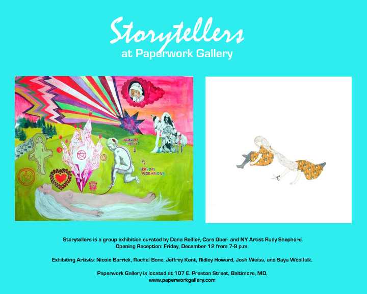 Rudy Shepherd - Storytellers - Paperwork Gallery, Baltimore